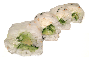 maki lite cucumber avocado and philadelphia