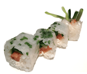 maki lite smoked salmon cucumber and philadelphia