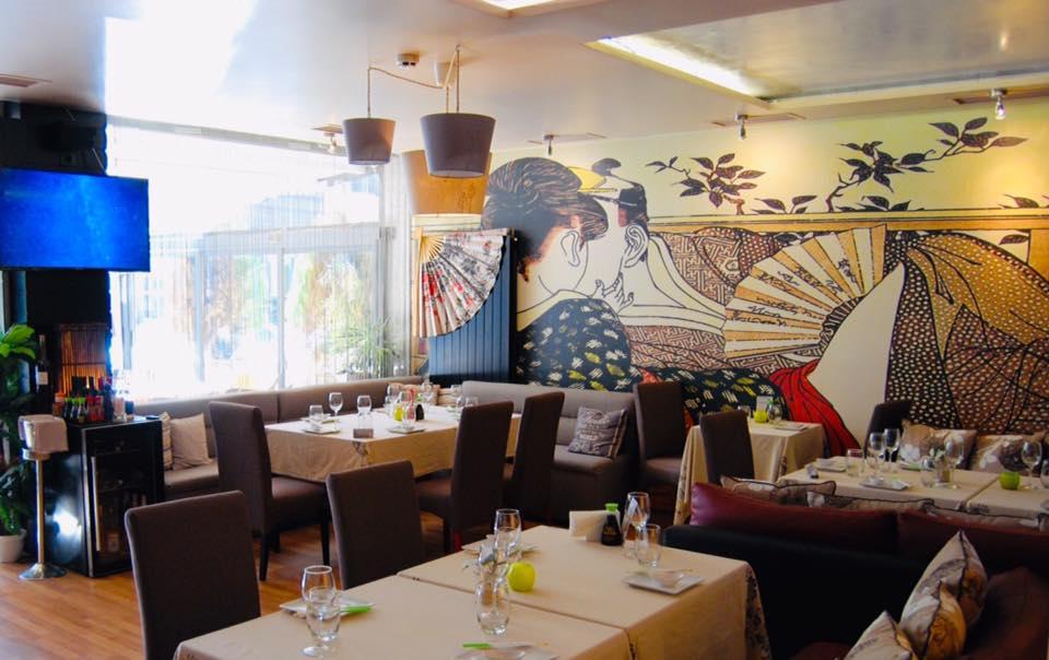 Risunka na stenata v restorant Lozenec