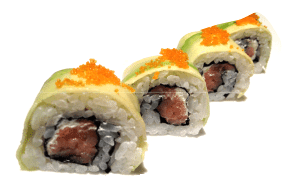 uromaki salmon avocado and philadelphia